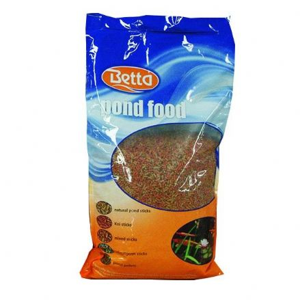 Betta Pond Mixed Variety Goldfish Koi Food Sticks & Pellets 5kg